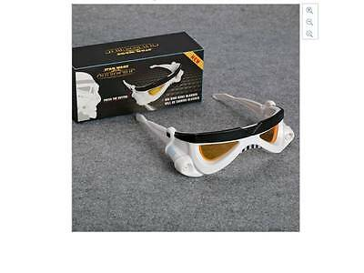 Star Wars Stormtrooper LED Eye Glasses Cosplay Toy - 2 pairs