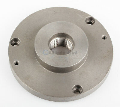 "Threaded Back Plate for Plain Back lathe Chuck 5""(1-3/4""-8 thread)"