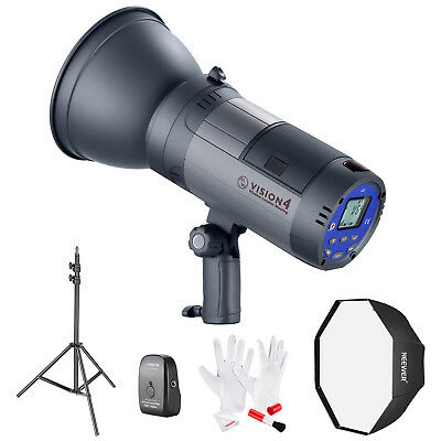 Neewer Photo Vision 4 Battery Powered Outdoor Studio Flash Strobe with Softbox