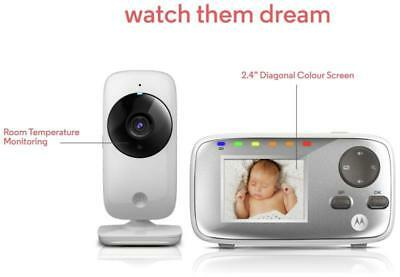 Motorola MBP482 2.4 Inch BABY Video Monitor Child Care & Safety WIRELESS Infared