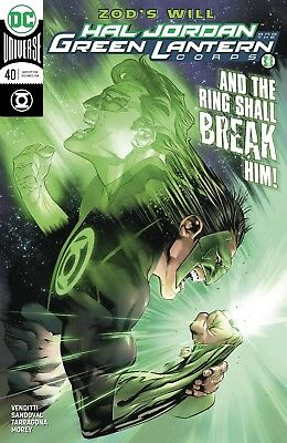 Hal Jordan And The Green Lantern Corps #40 - Dc Universe - Release Date 14/03/18