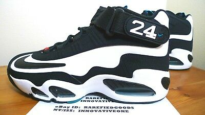 outlet store 2cd82 1b036 Nike Air Griffey Max 1 White Black Freshwater Varsity Red  354192 105  Sz 8