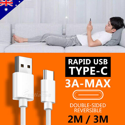 Rapid Charging USB Type C Cable Data Charger for Samsung S10 S9 S8 Plus Note 10