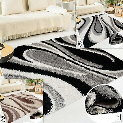 Small Extra Large Shaggy Rug New Modern Soft Touch Thick Shug Rugs Fluffy Carpet