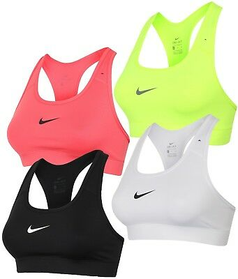 57be1a556e Nike Womens Ladies Pro Victory Dri-Fit Compression Racerback Sports Bra Gym  Top