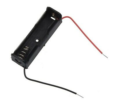 AA Battery Holder for 1 battery with fly leads. 1.5V FREE POSTAGE
