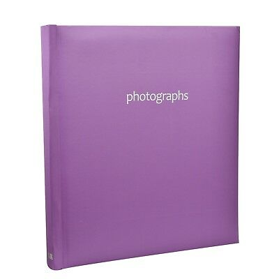 5 x 7'' Large Memo Slip In Photo Album for 120 Photos,Travel Memories Best Gift