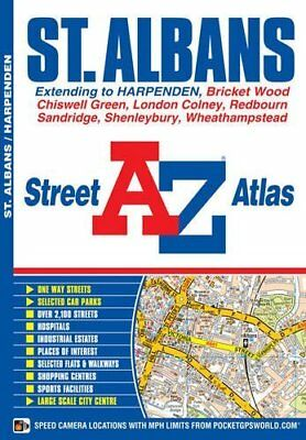 St Albans Street Atlas by Geographers' A-Z Map Company New Paperback Book