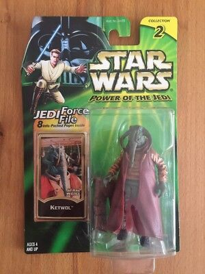 STAR WARS - Power of the Jedi - KETWOL - Hasbro - MOC - 2000