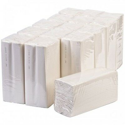 Sirius C-Fold Multi Fold Luxury White 2 Ply Paper Hand Towels 2400 Sheets 1 Box