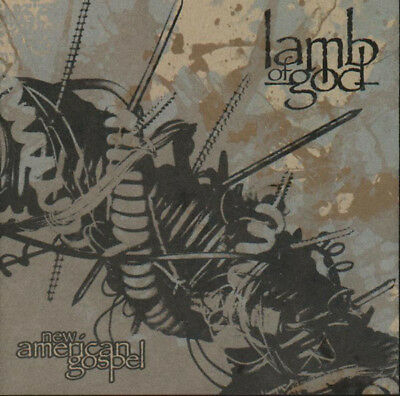FREE US SHIP. on ANY 3+ CDs! ~Used,Very Good CD Lamb of God: New American Gospel
