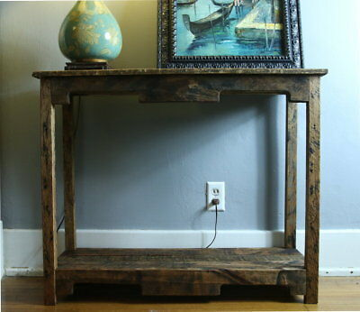 SOFA TABLE HANDMADE Reclaimed Pallet Wood- UpCycled - Vintage ...