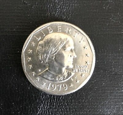 1979 P Susan B Anthony Dollar, AU, Fill Your Coin Book!