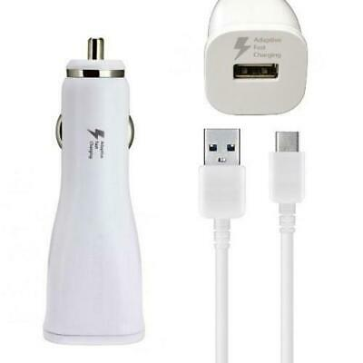 New OEM Samsung Fast Charging Car Charger Power Adapter White S6 S7 Edge Note 4