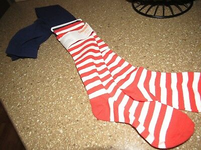 NWT GYMBOREE striped  tights M 7-8  retail girls *
