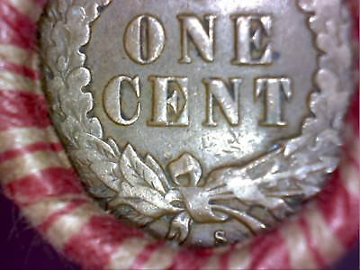Unsearched Shotgun Penny Roll - 1909 S or 1908 S IH & IH Cent on Reverse End