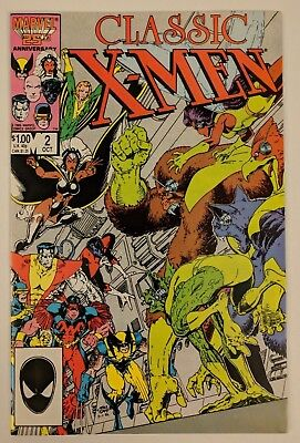 X-Men Classic #2 Marvel Comic 1986 Reprints Uncanny X-Men 94 New Back-Up Story