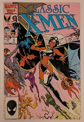X-Men Classic #4 Marvel Comic 1986 Reprints Uncanny X-Men 96 New Back-Up Story
