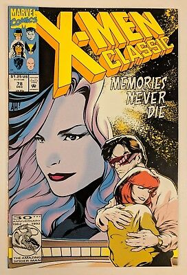 X-Men Classic #78 Marvel Comic 1992 Reprints Uncanny X-Men 174 Romances