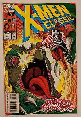 X-Men Classic #85 Marvel Comic 1993 Reprints Uncanny X-Men 181 Claremont