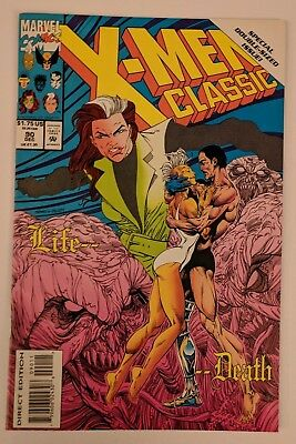 X-Men Classic #90 Marvel Comic 1993 Reprints Uncanny X-Men 186 Lifedeath