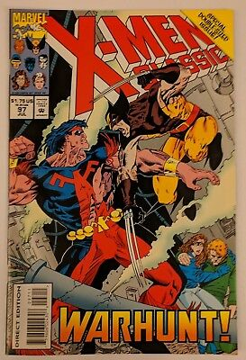 X-Men Classic #97 Marvel Comic 1993 Reprints Uncanny X-Men 193 Claremont