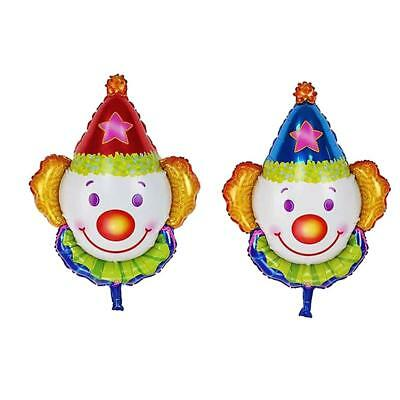 Set de 2pcs Juggles Super Clown Foil Balloon Enfants Fête D'Anniversaire