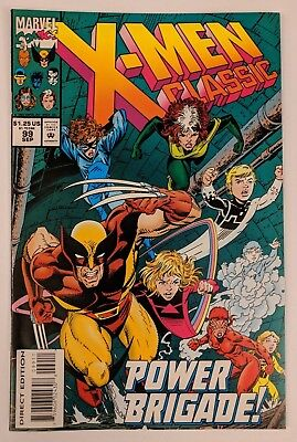 X-Men Classic #99 Marvel Comic 1994 Reprints Uncanny X-Men 195 Claremont