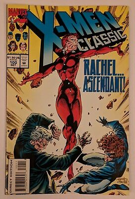 X-Men Classic #100 Marvel Comic 1994 Reprints Uncanny X-Men 196 Claremont