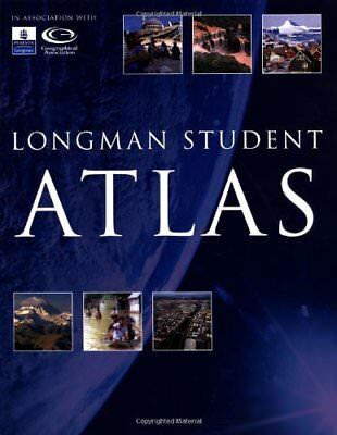 Longman Student Atlas by Olly Phillipson New Paperback Book