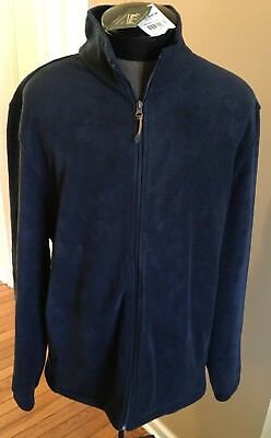 NWT NEW WITH TAGS Woolrich MENS SZ XL Andes II fleece jacket NAVY BLUE