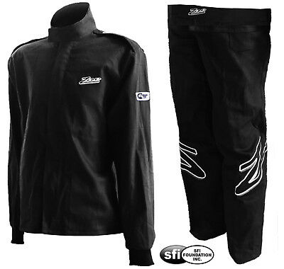 ZAMP - ZR-10 SFI-1 Auto Racing Suit- 2-Piece Jacket Pants Nomex-Style Fire Rated