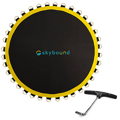 Premium Trampoline Mat by SkyBound (Choose from 12, 14, or 15 foot) + Free Tool