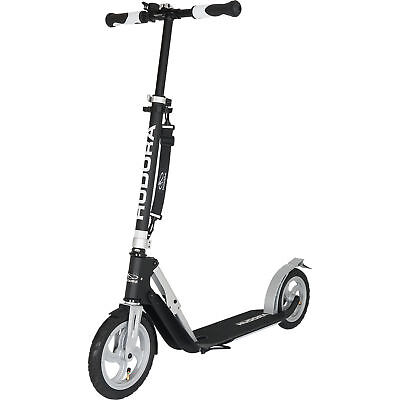 Neu Hudora Scooter Big Wheel Air 230 7194337 schwarz