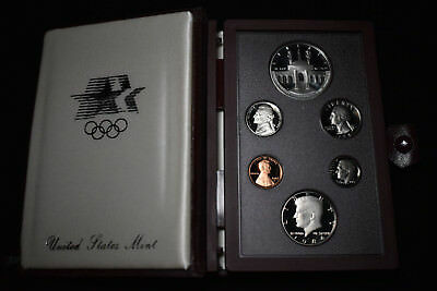 1984 Us Mint Prestige Proof Set, Los Angeles Olympics