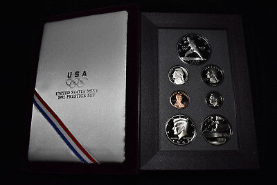1992 Us Mint Prestige Proof Set, Olympic Games