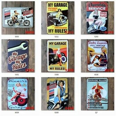Retro Metal Tin Sign Wall Decor Metal Bar Plaque Pub Poster Home Tavern Shop