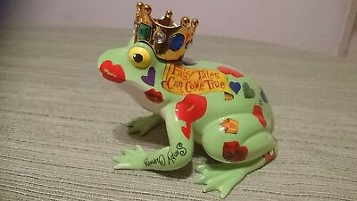 """Fanciful Frogs """"frog Prince"""" By Westland Giftware"""