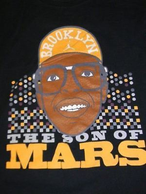 216f78d3fb04bf men s Nike Air Jordan t shirt Medium BROOKLYN Son of Mars Blackmon Spike Lee