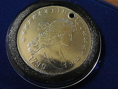 Original Excellent 1799 Draped Bust Dollar RARE GRADE