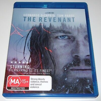 The Revenant (Blu-ray, 2016) Leonardo DiCaprio