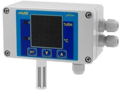 AR247-S2 Controller Controlled parameter temperature, humidity AR247/1/S2/P/P