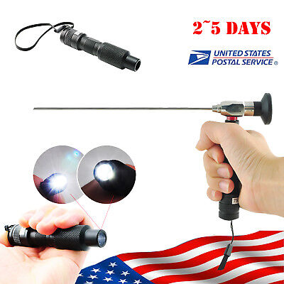 US Portable 10W Cold Light Source Fit for Compatible Endoscope Sinuscope FDA