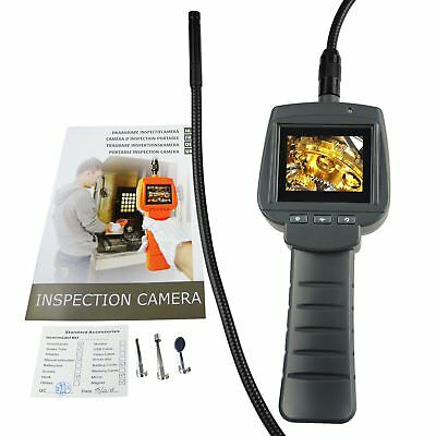 "2.4"" HD LCD Industrial Inspection Camera Endoscope Waterproof IP67, 1M Cable"