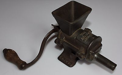 Antique English Grinder Meat Mill The Eclipse Mincer NYE & Co London, model A