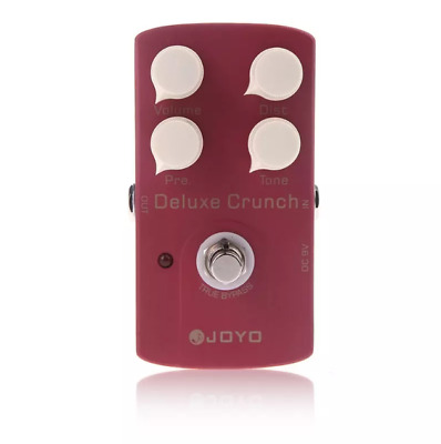 JOYO JF-39 Deluxe Crunch Electric Guitar Effect Distortion Pedal