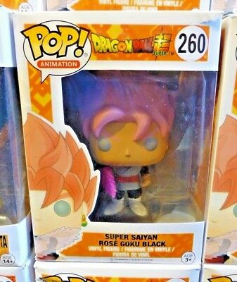 Funko POP! Animation Dragonball Super Super Saiyan Rose Goku Black 260