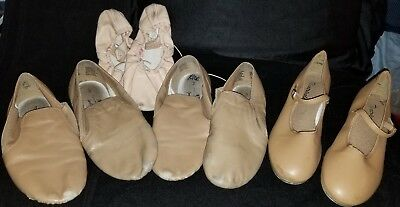 Girls Jazz, Tap and Ballet shoes- PRICE DROP