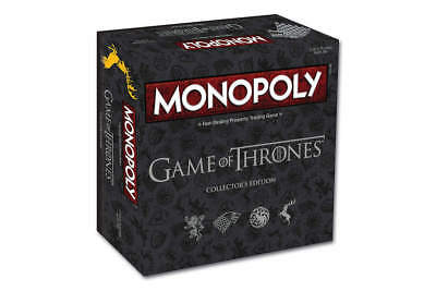Game of Thrones Monopoly Collector's Edition