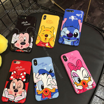 Cute Disney Cartoon IMD Soft Phone Case Cover For iphone 11 Pro Max 6s/7/8 Plus